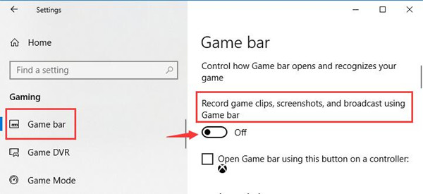 record game clips screenshots and broadcase using game bar