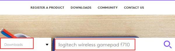 logitech wireless gamepad f710 driver