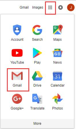 gmail from google chrome