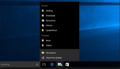taskbar will not hide on windows 10