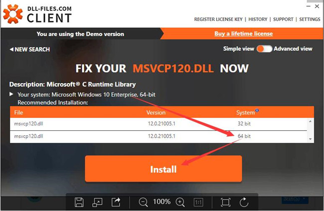 msvcp120.dll download free 32 bit