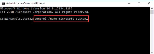 control name microsoft system