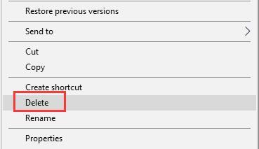 delete the html cache