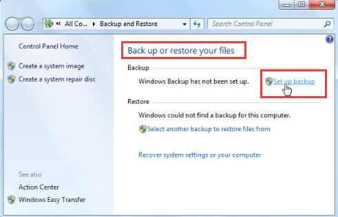 Fixed: the Backup Application Could Not Start Due to an