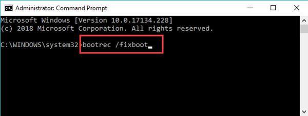 fix master boot record