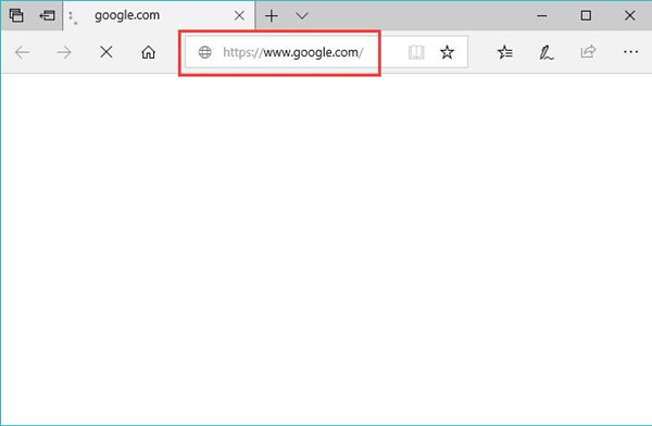 make google my homepage windows 10