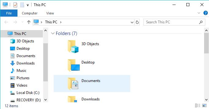 shortcut for file explorer