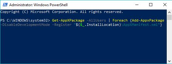 use windows powershell