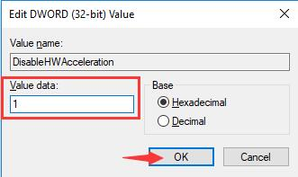 disablehwacceleration value 1