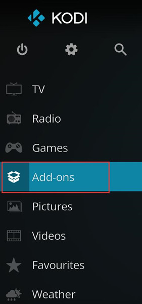 add ons in kodi