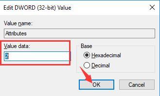 attributes value data 2