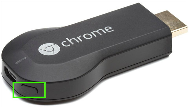 how to factory reset chromecast