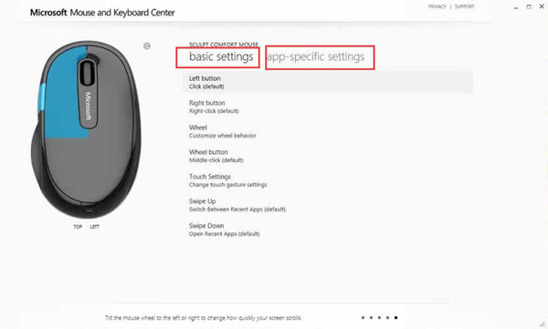microsoft mouse and keyboard detection driver update