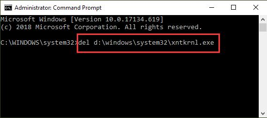 repair bcd in command prompt