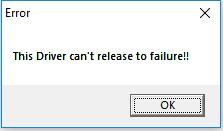 Gigabyte App Center: The Driver Can\u0027t Release to Failure on Windows
